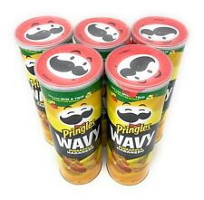 Special Edition Wavy Pringles Pineapple Habanero Potato Chips Lot of 5 Cans
