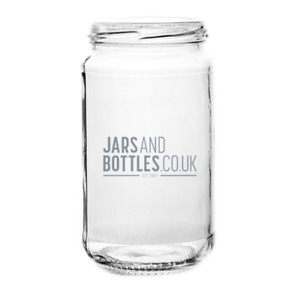 16oz Pickle preserve Jars perfect for pickles & chutneys  (Inc caps)