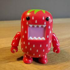 "Toy2R Dark Horse Domo Qee 2"" Series 3 (2011) Strawberry 1/10 Rarity"