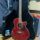 Juno EA-50C WR Wine Red SI09118703 Indonesia Acoustic Guitar + Hard Case &String for sale