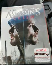 Assassin's Creed Target Exclusive Blu-ray  with Hidden Dagger Arm Sleeve. Mint