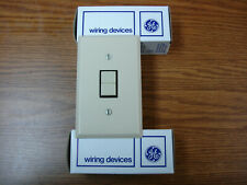GE Push Button Light Switch RS232 Remote Lighting Control Relay Ivory 24VAC
