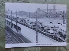A2e ephemera picture ford cars on cartics barking flyover