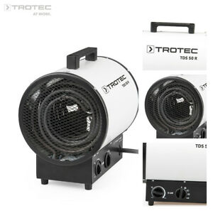 TROTEC TDS 50 R Elektroheizer Bauheizer Heizgerät Heizlüfter Zeltheizung 9 kW