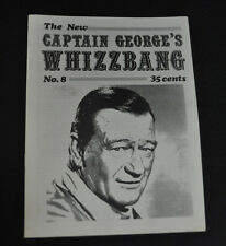 CAPTAIN GEORGE'S WHIZZBANG #8 JOHN WAYNE ISSUE! VF