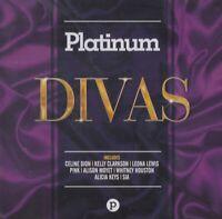 Platinum Divas (2017) 20-track CD Neuf/Scellé Céline Dion KELLY Clarkson