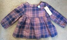 Gap Checked 100% Cotton Clothing (0-24 Months) for Girls