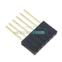 50pcs For Arduino 6-Pin Single Row Stackable Shield Female Header 2.54mm Pitch