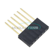 50pcs For Arduino 6 Pin Single Row Stackable Shield Female Header 254mm Pitch