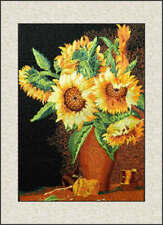 Exquisite Chinese SuZhou Embroidery Art Painting The Beautiful Sunflower