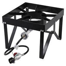 Square Single Burner Liquid Propane Outdoor Patio Stove / Range - 55,000 BTU