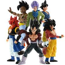 6 pcs dragon ball z action figures Set Dragonball Z DBZ Toys Goku Anime 12cm