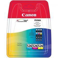 Canon CLI-526 Cyan, Magenta, Jaune (4541B009AA) Cartouches d'encre d'origine