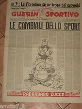 GUERIN SPORTIVO 1956/6 LE CAMBIALI DELLO SPORT