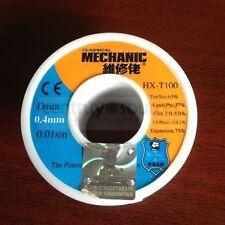 1PCS MECHANIC Solder Wire MCN806 HX-T100 63Sn/37Pb 1.2%  0.4mm