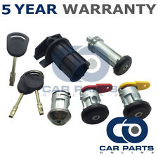 Front Left Right and Rear Door Lock & 3 Keys For Ford Courier Escort Fiesta KA