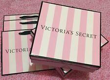 Victoria's secret neuf! Parti Sacs Cadeau (3) + Boîte (2) moyenne (Ensemble de 5)