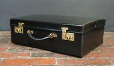 Luxury Black Papworth Swaine Adeney Attache Briefcase