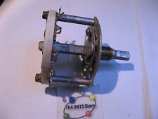 Rotary Selector Switch 2 Pole 5 Position (plus off) Non-Short Ceramic Used Qty 1