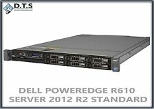 DELL POWEREDGE R610 SERVER X5570 2.93GHZ 24GB  WINDOWS SERVER 2012 R2