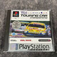 TOCA Touring Car Championship PS1 PlayStation 1 PAL Game Complete Platinum Racer
