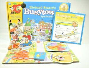 """Wonder Forge - Richard Scarry's """"Busytown Eye Found It!"""" Board Game - 100% Comp"""