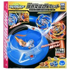 TAKARA TOMY Beyblade Burst Superking surge Limit romper DX Set con estadio B-174