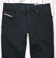 Mens DIESEL R-Troxer-A Jeans W29 L30 Black Slim Skinny Wash 0NAHC STRETCH 🇮🇹