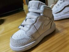 Nike Shoes for Little Kids Boys US Size 7C,White, ideal for toddlers ,Fashion