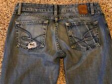 Women's BKE Starlite Denim Stretch Boot Cut Jeans Size 28 Inseam 33