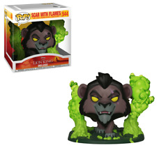 Funko Pop! Scar with Flames #544 Disney The Lion King Deluxe Hot Topic Exclusive