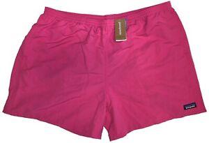 """Patagonia Men's Baggies 5"""" Swim Shorts (Ultra Pink) 57021 Retail $55"""