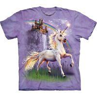 Unicorn Castle Fantasy T Shirt Child Unisex The Mountain