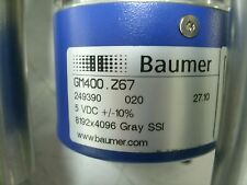 CLIPPER WINDMILL WIND TURBINE YAW MOTOR ENCODER BAUMER GM400.Z67 5 VDC NEW