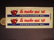 """DECALS """" LA VACHE QUI RIT """" POUR RESTORATION BERNARD SOLIDO - T381"""