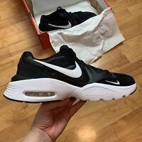 Nike Men's Air Max Fusion Trainers Size UK 11 EUR 46 Black CJ1670 002