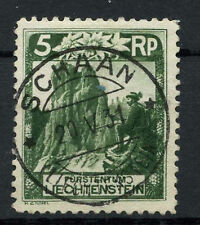 Used Postage Liechtenstein Stamps