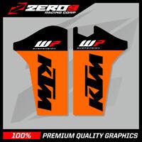 KTM SX SXF 2008-2014 EXC 2008-2015 LOWER FORK MOTOCROSS GRAPHICS MX GRAPHICS WP