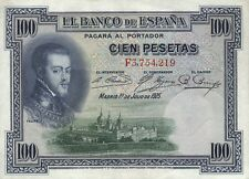 España/Spain 100 pesetas 1925 pick 69c (2)