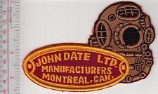 SCUBA Hard Hat Diving John Date Diving Helmet Manufacturers Montreal, Quebec Red