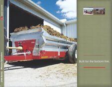 Farm Equipment Brochure Massey Ferguson 3700 ser Manure Spreaders c2008 (F6038)