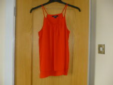 New Ladies/Girls Red Top -size: 12