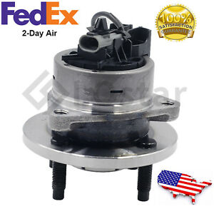 Wheel Hub and Bearing Assembly Fits Chevy Cobalt G5 Lon 4 Lug  w/ ABS