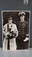 1937 Vintage Postcard Princess Juliana & Bernhard of the Netherlands in London