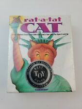 New listing Rat-A-Tat Cat Card Game Strategy Memory Luck Best Toy Award Gamewright Sealed