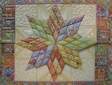 Carol Wilson Fine Arts Stationery 10 Blank Note Cards Envelopes Star Quilt