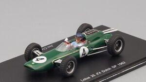 Lotus 25 #4 Dutch GP 1962 Spark S1616 1:43
