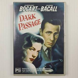 Dark Passage DVD - Humphrey Bogart, Lauren Bacall - Region 4 - TRACKED POST