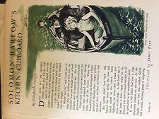 m17c ephemera 1950s short story solomonbarlow's kitchen cupboard e enright