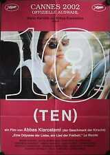 10 on Ten Zehn Kinoposter A1 Abbas Kiarostami Marin Karmitz